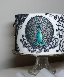 Art Nouveau Cake 2 - Piped Peacock