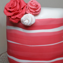 BaconCake - Stripe Cake Detail