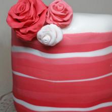 BaconCake - Stripe Cake Detail