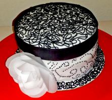 Black and White Cake 2