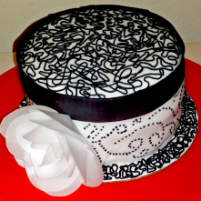 Black and White Cake 2