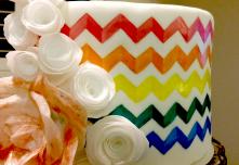 Pattern Painted Cake 3