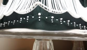 Rover Cake - Austalian Strings - Black and White - Details 1