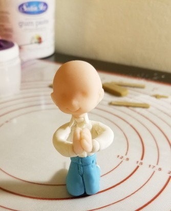 Cake Topper - Praying Kid1