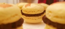 Chocolate Macarons1